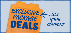 Exclusive Package Deals    Get your coupons
